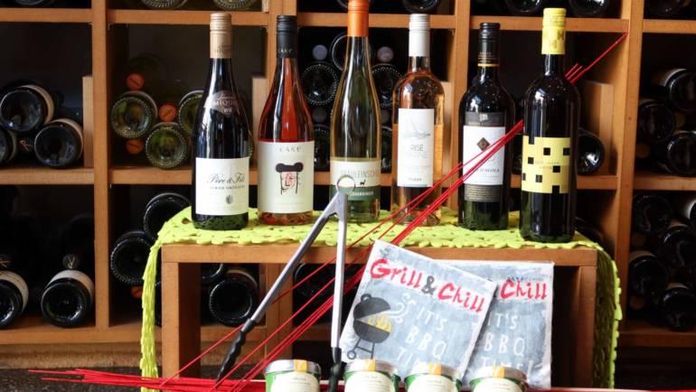 Sommerweinpaket für Terrasse und BBQ