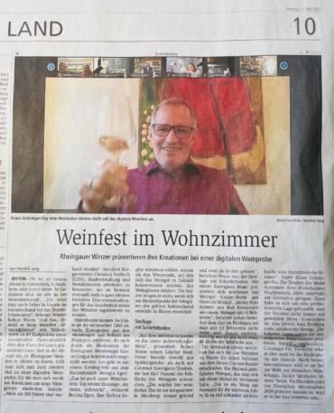 Weinfest Idstein @home war ein voller Erfolg!
